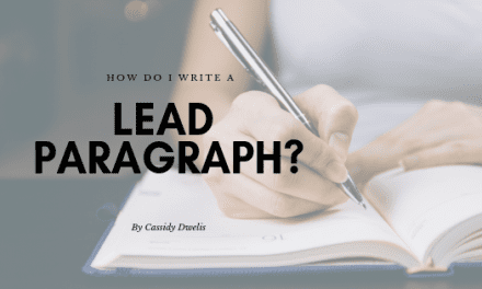 How do I write a great lead paragraph?