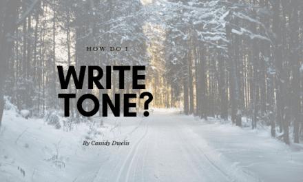How do I write tone into my novel?