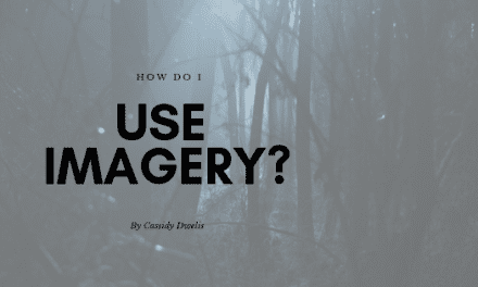 How do I use imagery in fiction writing?