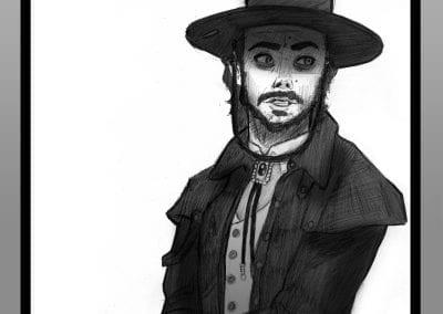 modestus mcdoon cowboy portrait