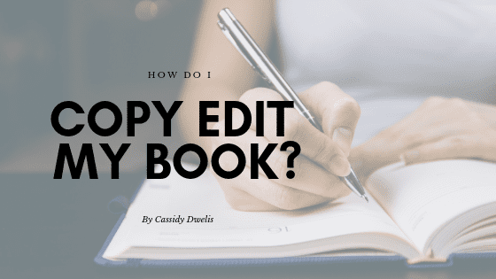 How do I copyedit my book?