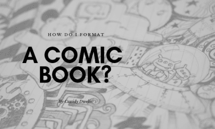 How do I format a comic book script?