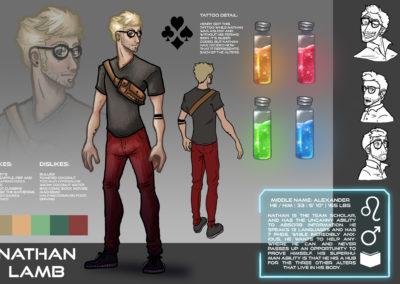 Nathan Lamb Character Sheet